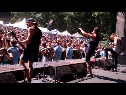 Abandon All Ships- Intro, Bro My God, Geeving, Megawacko 2.1- Warped Tour 11 Columbia, MD