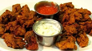 How To Fry Oysters - Old Bay Fried Oysters - Seafood Recipe