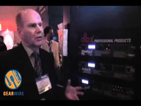 Dbx DriveRack PX: Power Speaker Optimizer At Winter NAMM 2008