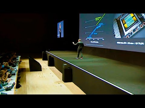 Nvidia Volta Presentation at GTC 2017