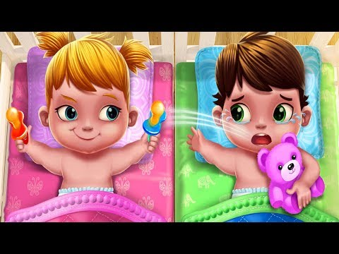 Fun Care Kids Game - Baby Twins Babysitter - Play Dress Up, Care Games For Children And Family