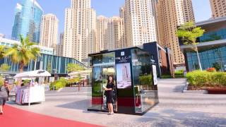 The Address Residences Jumeirah Resort + Spa Promotional Stand