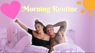OUR MORNING ROUTINE AS A FAMILY IN OUR NEW LA APARTMENT!!