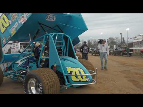 Pit walk during motor starts at Williams Grove Speedway Friday night