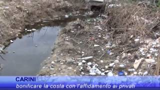 TV7 - Carini - Piano spiagge, bonifica della costa e discariche