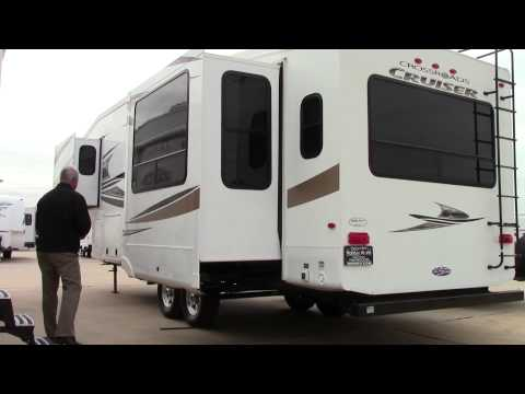 Preowned 2011 Crossroads Cruiser 315RE Patriot Edition Fifth Wheel RV - Holiday World In Katy, Texas