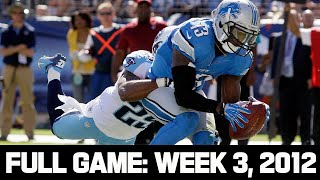The Craziest Game No One has Seen! Lions vs. Titans Week 3, 2012 Full Game