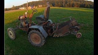 Maszyna rolnicza zrobiona samemu, kopaczka sam, wady i zalety, Home made Agricultural Machine