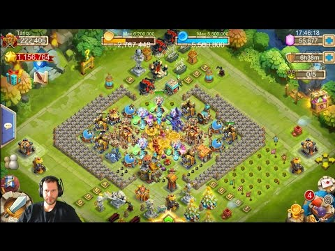 Top Arabic Account Rolling 60k For Anubis Interesting Castle Clash