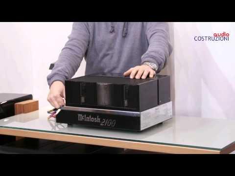 McIntosh MC 2100 di Sbisa' Audiocostruzioni