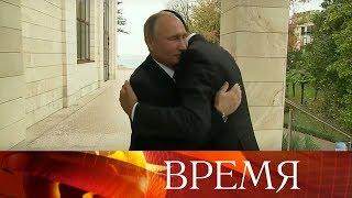 Владимир Путин встретился сБашаром Асадом, который посетил Россию срабочим визитом.