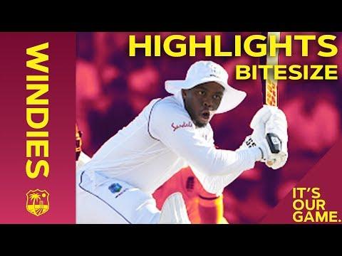 Windies vs England 1st Test Day 1 2019   Bitesize Highlights