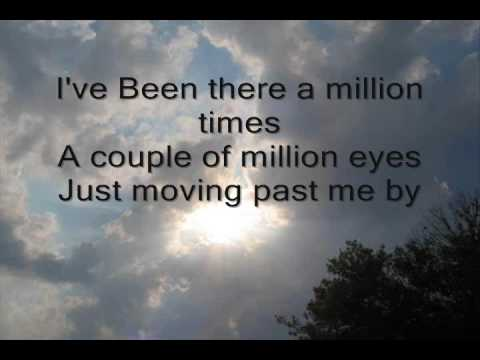 Give Me Your Eyes Brandon Heath With Lyrics on screen
