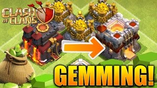 42,000 GEMS! Clash of Clans - GEMMING TOWN HALL 11! BUYING ENTIRE UPDATE (Grand Warden Eagle!)