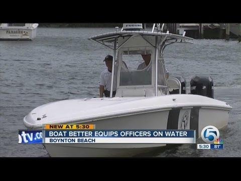 Boynton Beach Police marine unit gets new boat