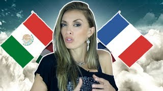 DIFERENCIAS CULTURALES ENTRE  MEXICANOS Y FRANCESES !! La francesa te explica