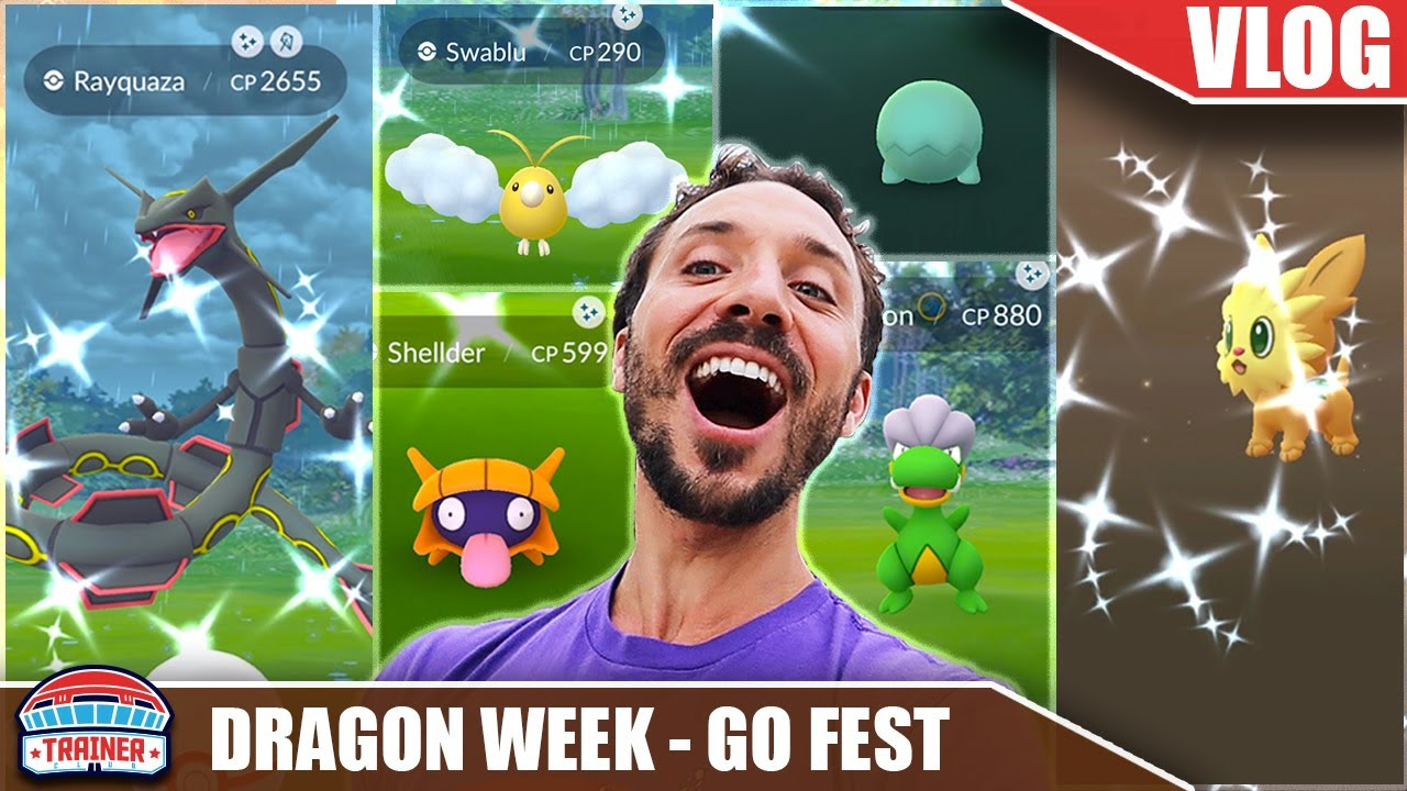 THE CRAZIEST *24 HOUR SHINY HUNT* YET - DRAGON WEEK - ULTRA UNLOCK - SHINY RAYQUAZA | Pokémon GO