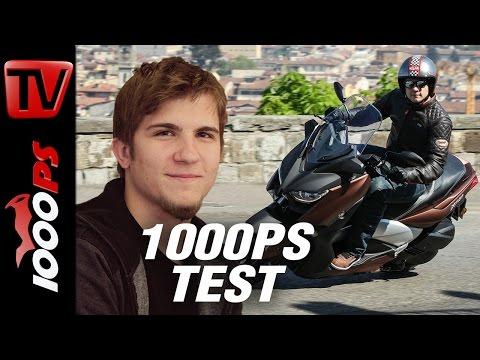 1000PS Test - Yamaha X-MAX 300 2017 - Yamahas neuer Alleskönner?