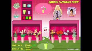 How To Play Barbie Flower Shop