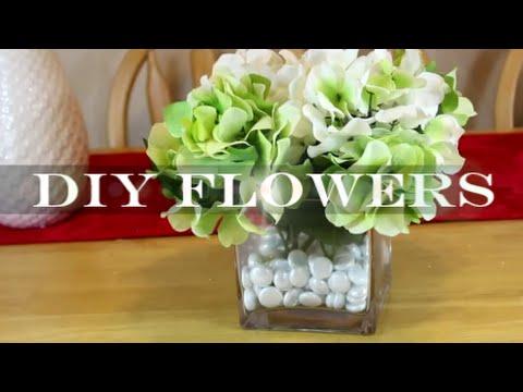Diy Flower Arrangements Artificial