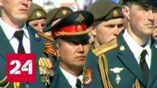 Южно Сахалинск Парад Победы 2018