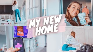 setting up furniture in my new apartment!! + amazon finds