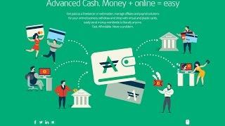 Платежная система Advanced Cash:   РЕГИСТРАЦИЯ(Advanced Cash имеет ОФШОРНУЮ КАРТУ ! При снятии денег в банкомате и проведении операций в банке будет отображатьс..., 2015-07-01T16:12:20.000Z)