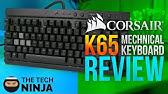 Corsair K65 RGB Linux / Ubuntu LED Preset - YouTube