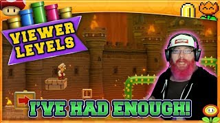 I'VE HAD ENOUGH! | Super Mario Maker 2 Super Viewer Levels with Oshikorosu! [20]