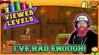 I'VE HAD ENOUGH! | Super Mario Maker 2 Super Viewer Levels with Oshikorosu! [20]