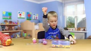 Playdoh Ostereier beim Spielzeug Tester - Julian