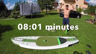 Jobe Duna 11 6 Inflatable Paddle Board Inflating