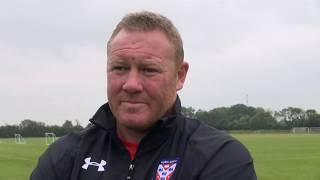 Steve Watson pre-match interview (Leeds)