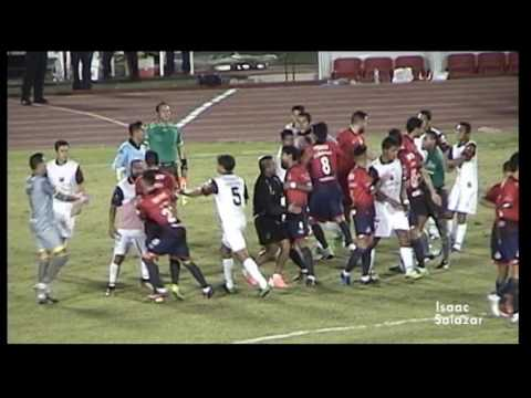 Cimarrones Vs. Atlante (0 -  1) GOL Y BRONCA J16 Ascenso Mx