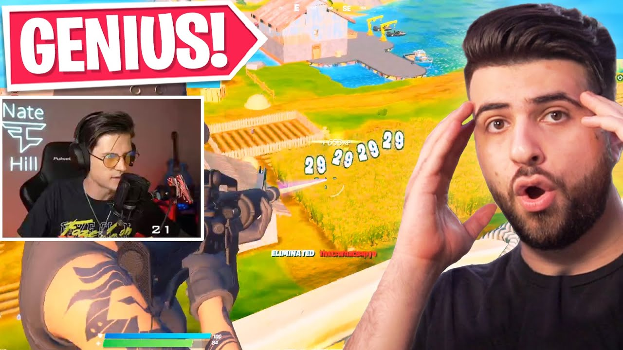 Reacting To The SMARTEST Fortnite Plays...