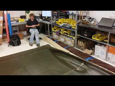 PROVE Lab solar car bodywork comes home