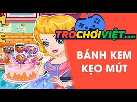 Game bánh kem kẹo mút – Video hướng dẫn cách chơi game