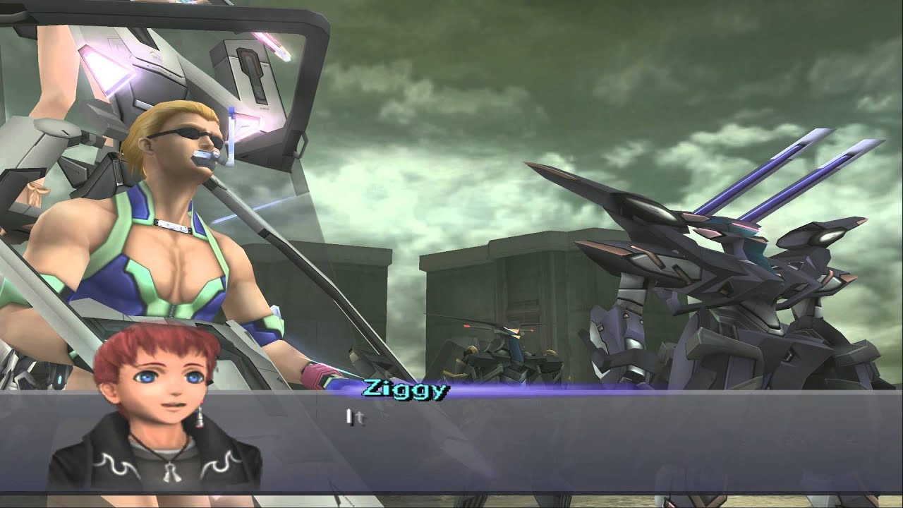 Xenosaga Ziggy Xenosaga III HD Cutsce...