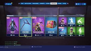 FORTNITE LIVE MAGASIN D'ARTICLES COUNTDOWN 25TH AUGUST!!! NOUVEAU SKINS?!? Fortnite Bataille Royale