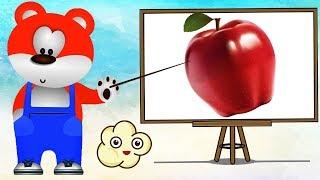 ვისწავლოთ ფერები, ფერები ქართულად პატარებისთვის, სასწავლო ვიდეო ბავშვებისთის