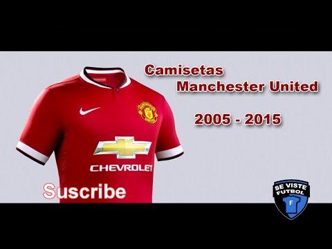 Historia Camisetas Manchester United 2005 2015
