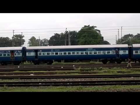 12488 Seemanchal Express leaving Katihar Jn