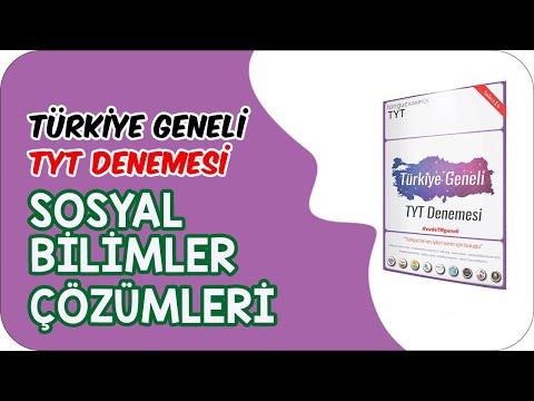 Türkiye Geneli TYT Denemesi Sosyal Bilimler Soru Çözümü