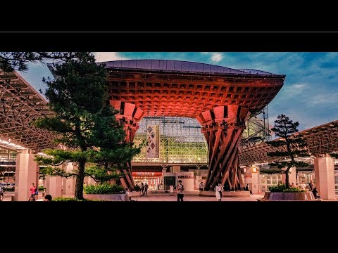My Summer Vacation in Kanazawa, Japan|1080P|A Cinematic Tour|Culture with 火
