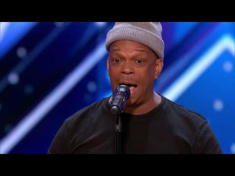Mike Yung Subway Singer Stuns Crowd with Unchained Melody   Americas Got Talent 2017