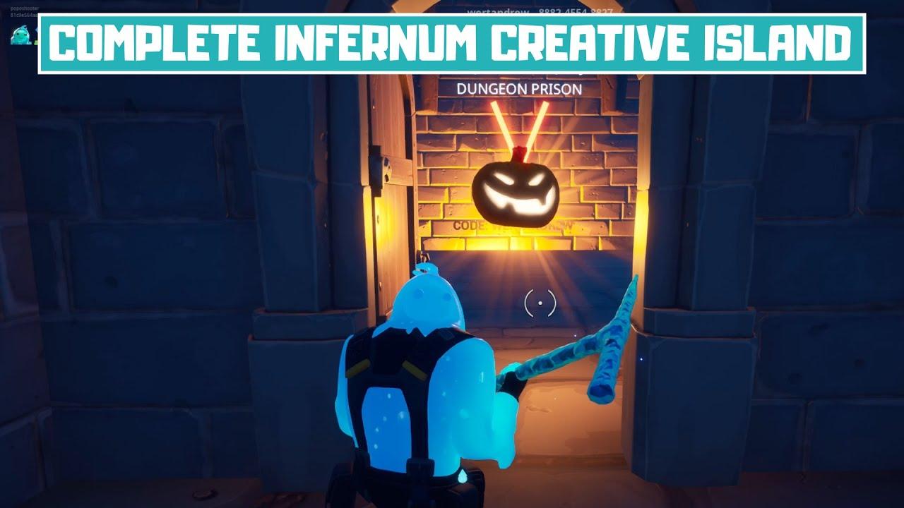 Fortnite Creative Curse Challenges Guide Gun Fright