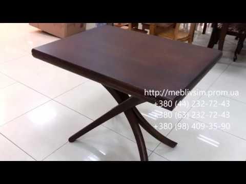 Видео обзор: Классический стол журнальный круглый