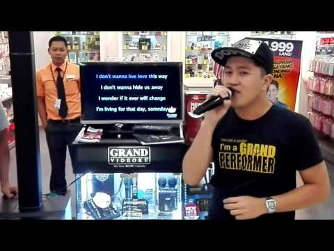 Secret Love Song - cover By. Kevin Traqueña (The Voice of Grand Videoke)