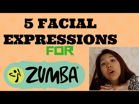5 Facial Expressions For Zumba