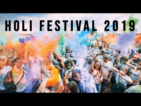 HOLI - FESTIVAL OF COLOURS 2019 | AFTERMOVIE (Germany - Bad Aibling) / DeerCuts